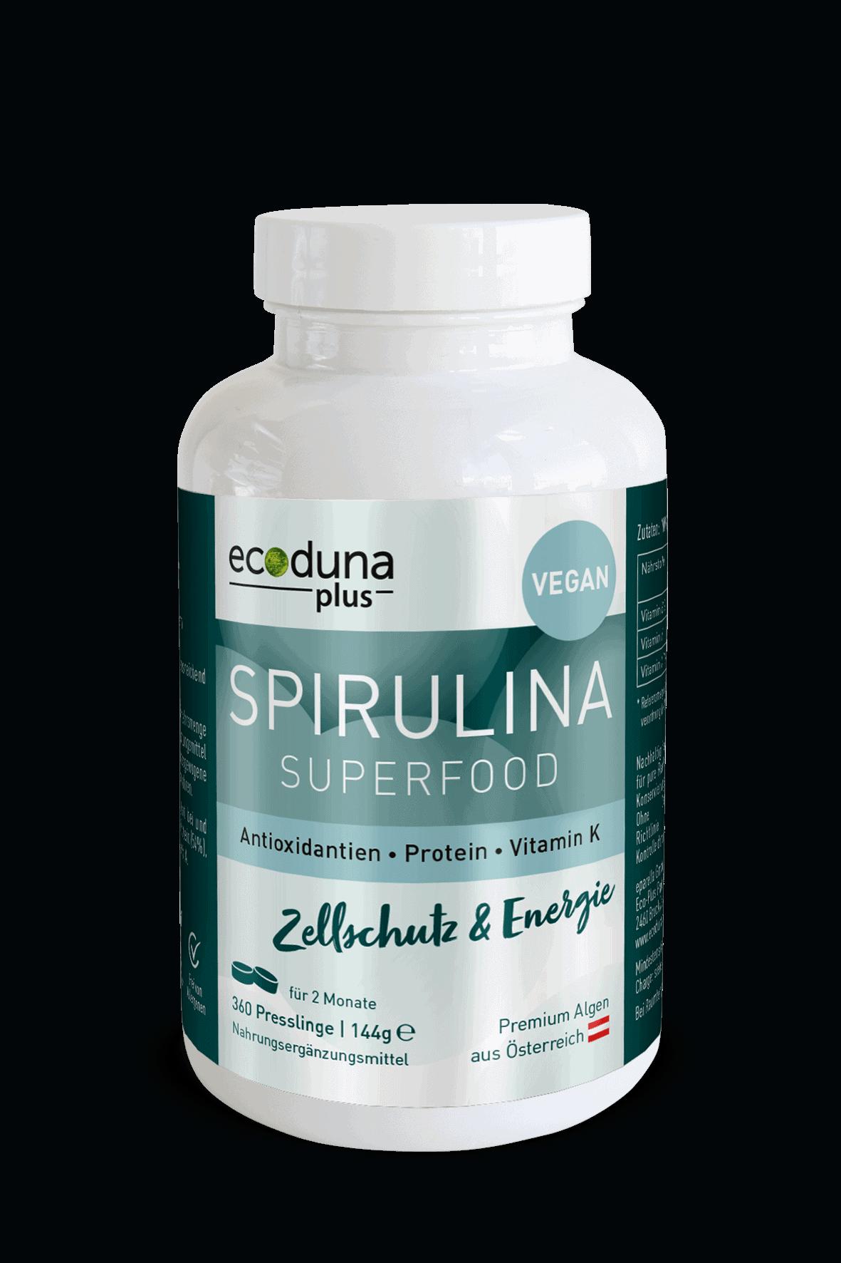 Spirulina tablets, 360 pcs